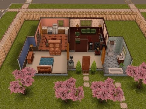 The Sims Freeplay Houses Guide Part One. 3 Bedroom Townhouse Floor Plans   Awesome Interior Ideas