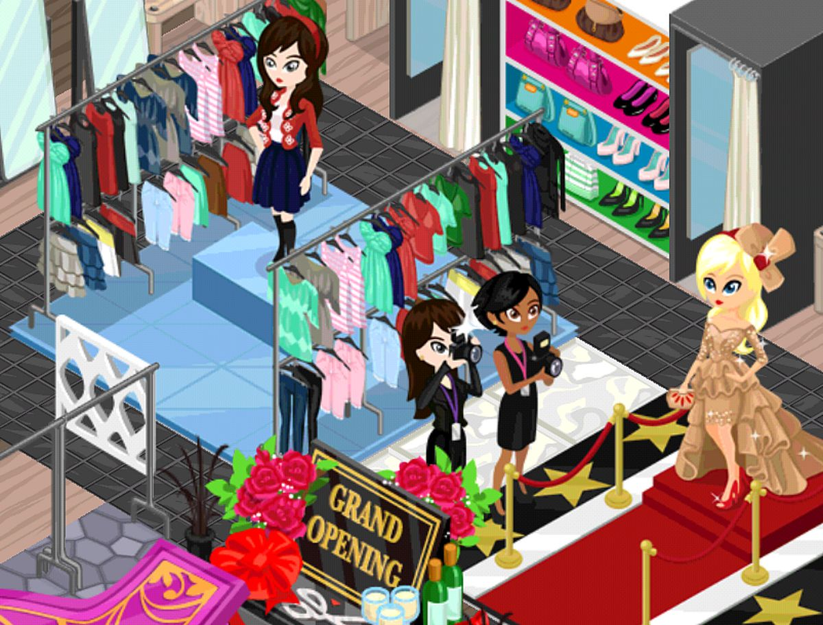 A Fashion Story Game some examples of rewards