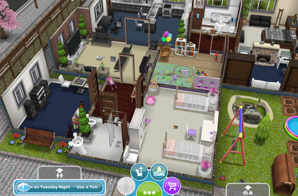 Sims Freeplay Houses Player Designed House Images Galleries With A Bite