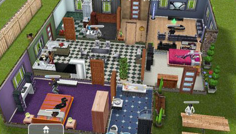 Sims Freeplay Homes Designs