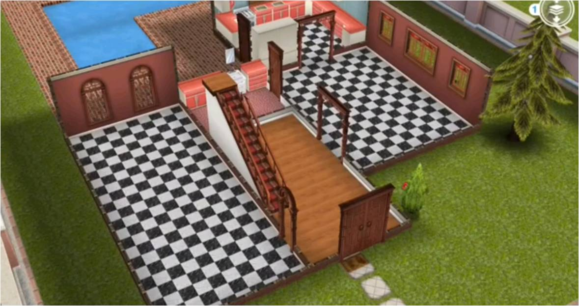 The Sims Freeplay House Guide Part Three Templates Girl Who Games