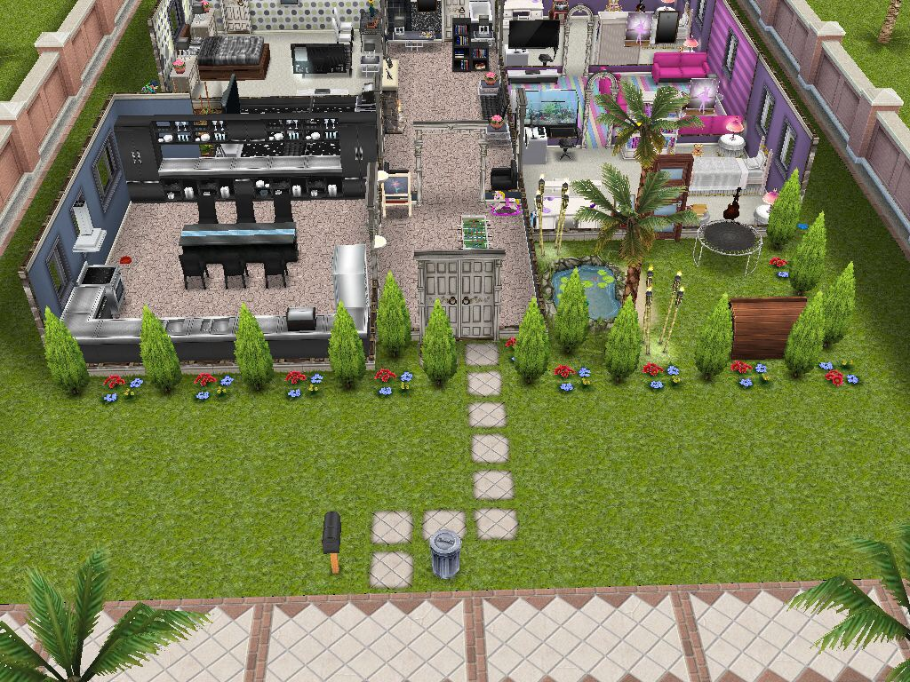 Sims Freeplay House Plans