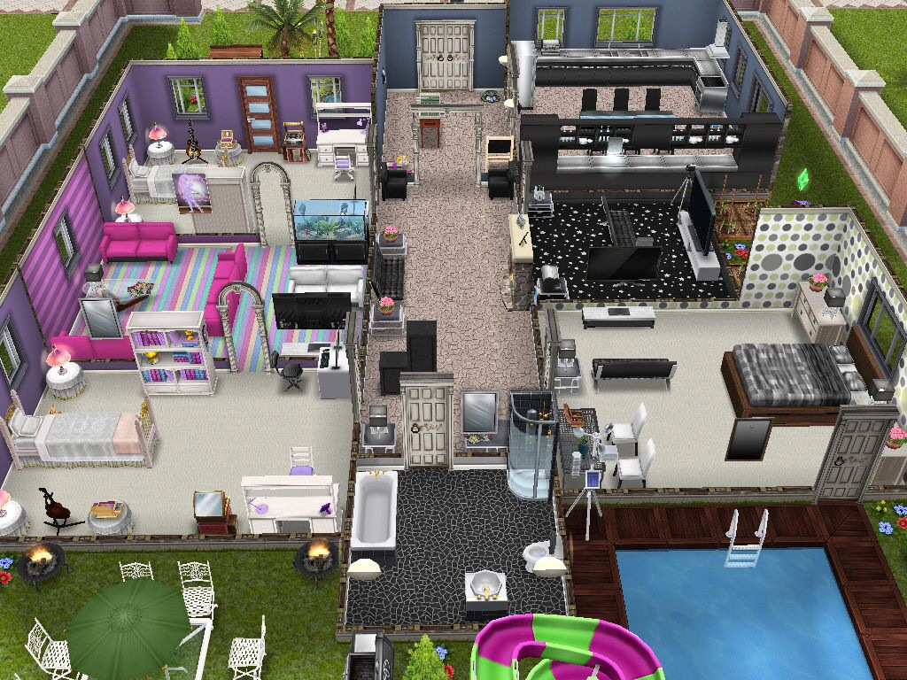 The Sims Freeplay House Design Competition Winners The Girl Who Games