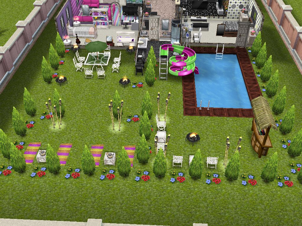 The sims freeplay house design competition winners the for House planning games