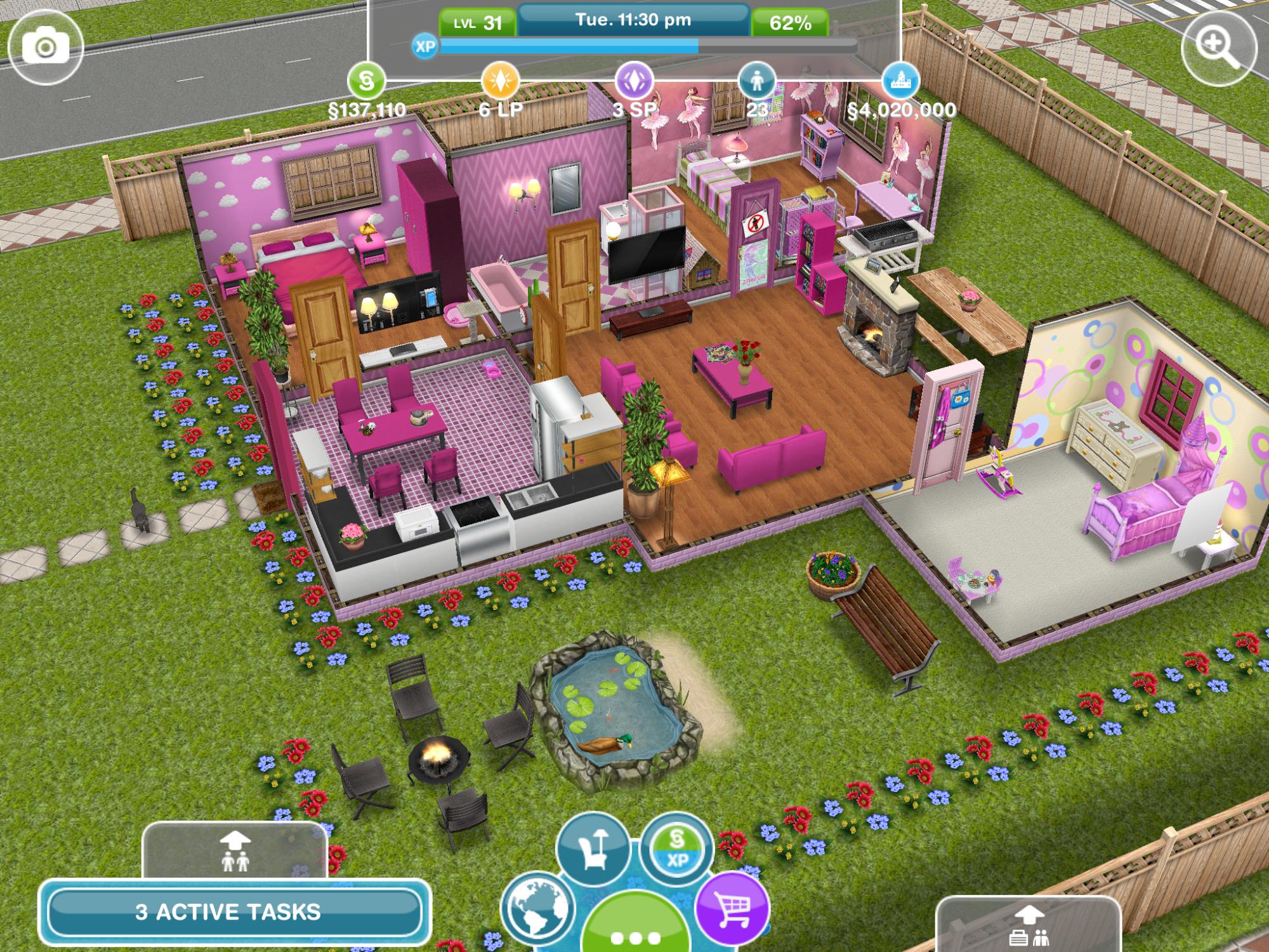 Beautiful Sims Freeplay Homes Designs Photos - Interior Design ...