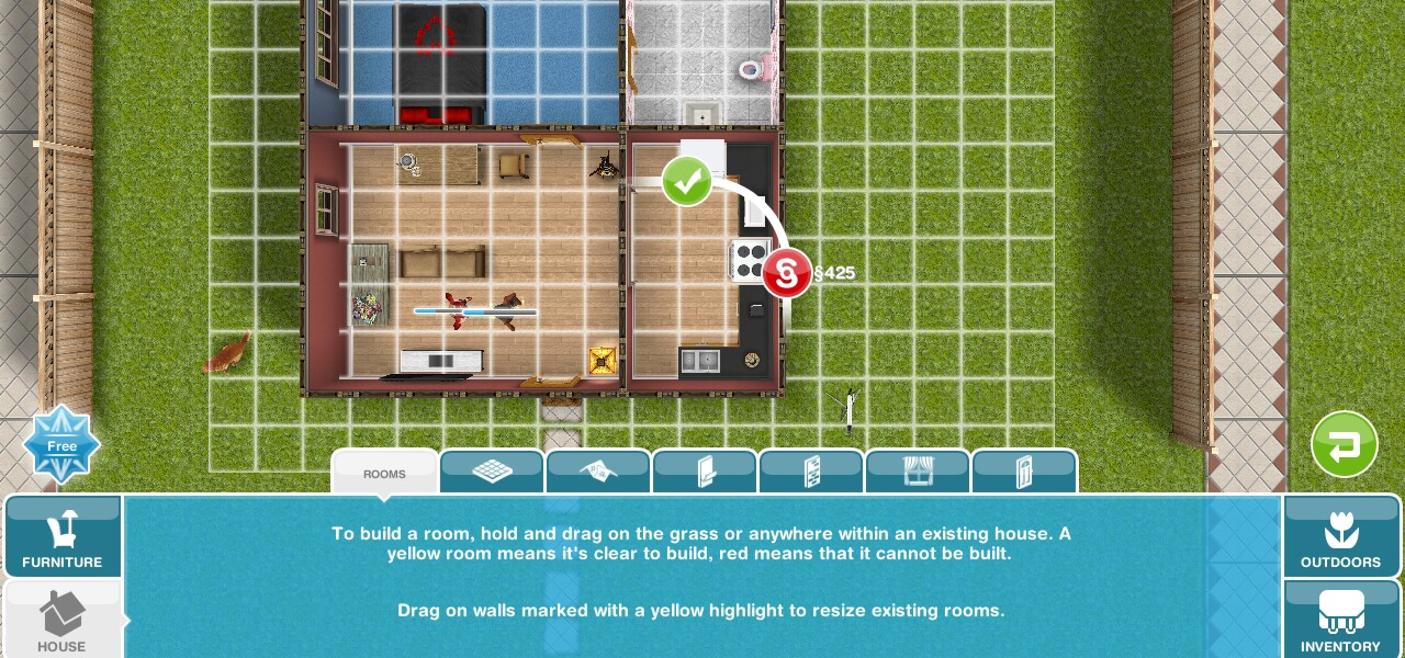 How To Build A Second Floor On Sims Freeplay
