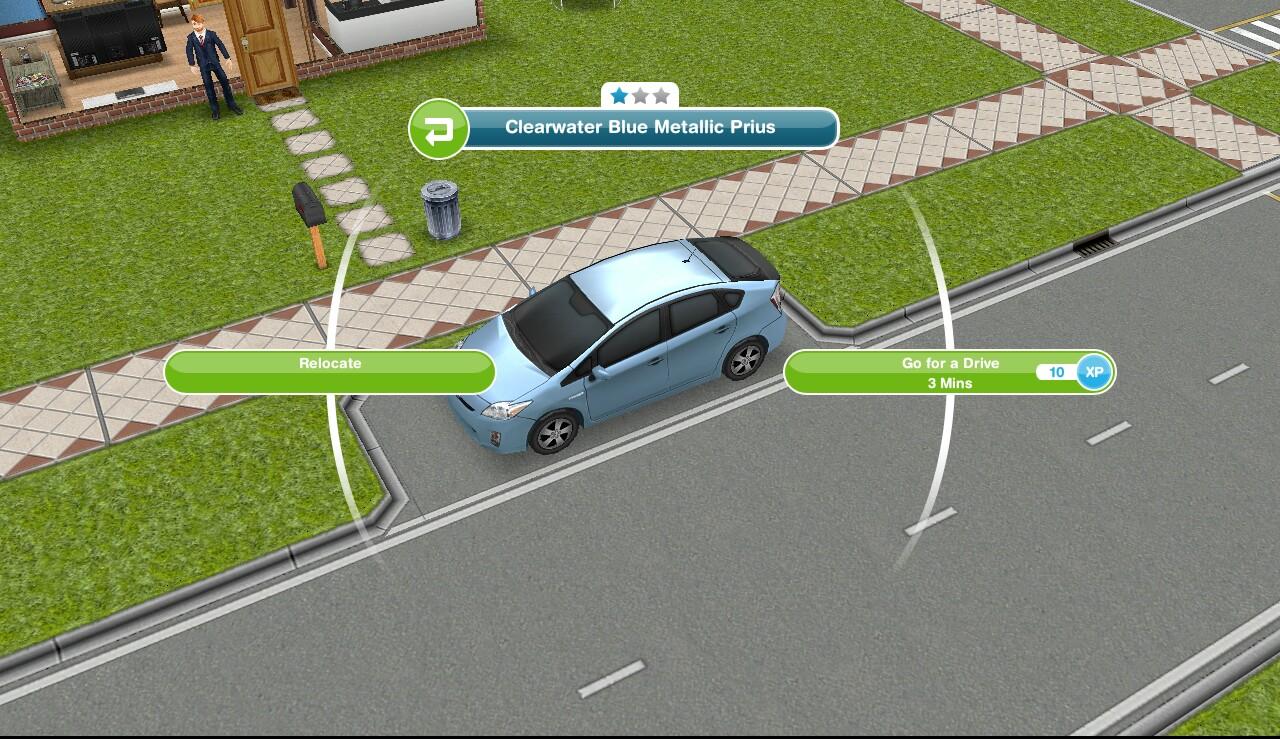 Car Dealer On Sims Freeplay
