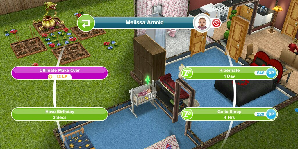 Sims Freeplay Birthday Cake