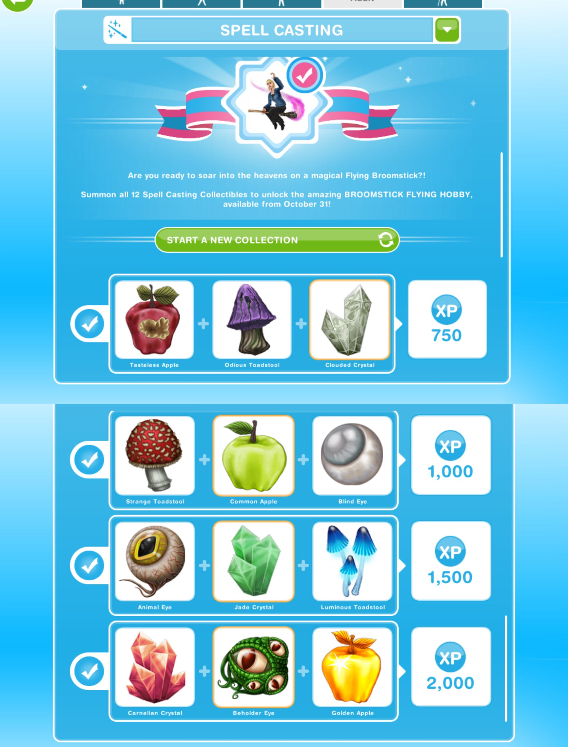 The sims freeplay long hairstyle - You Will Earn Xps When You Complete A Row In The Hobby But To Complete The Collection You Need To Find All 12 Of The Collectibles