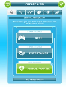 The Sims Freeplay- Guide to Life Dreams and Orbs – The Girl