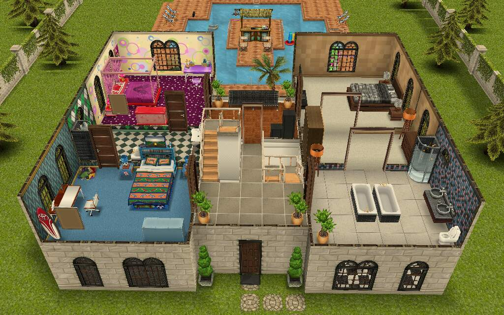 Can Not Design House In Sims