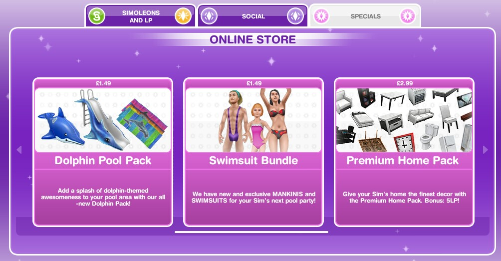 The Sims Freeplay- In App Purchases – The Girl Who Games