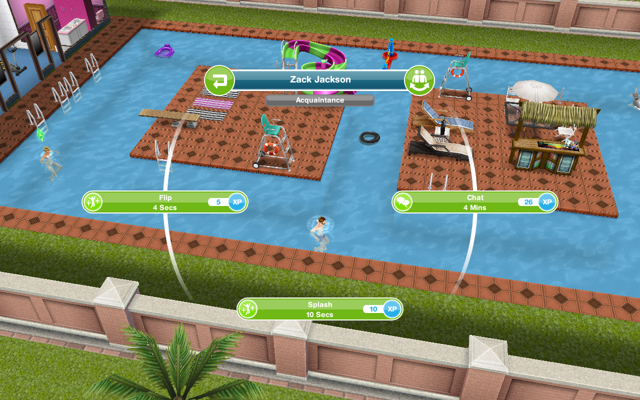 Swimming pools the girl who games for Pool design sims 4
