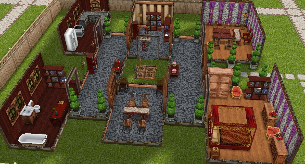 how to demolish a house in sims free play