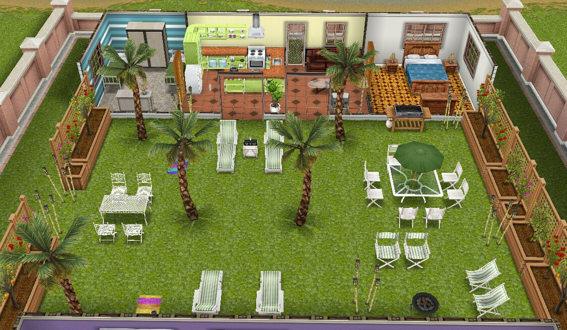 How Do You Build A Mezzanine In Sims Freeplay