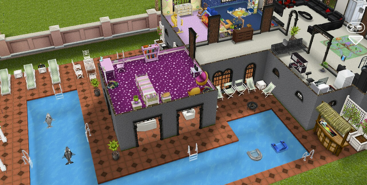 The Sims Freeplay House Guide Part Two Girl Who Games