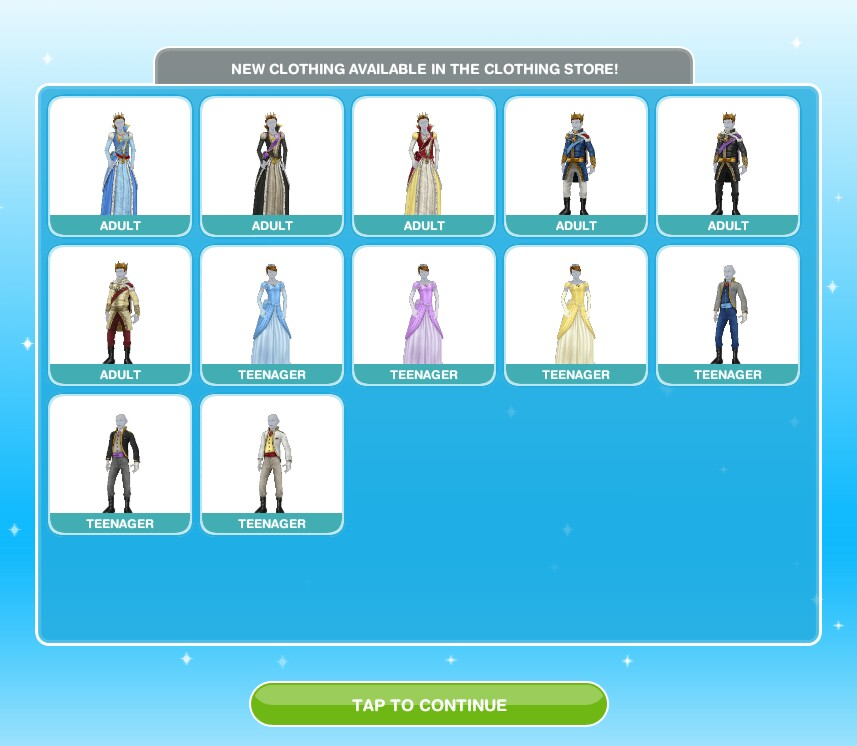 Design Clothes Sims Freeplay | The Sims Freeplay The Castle The Girl Who Games
