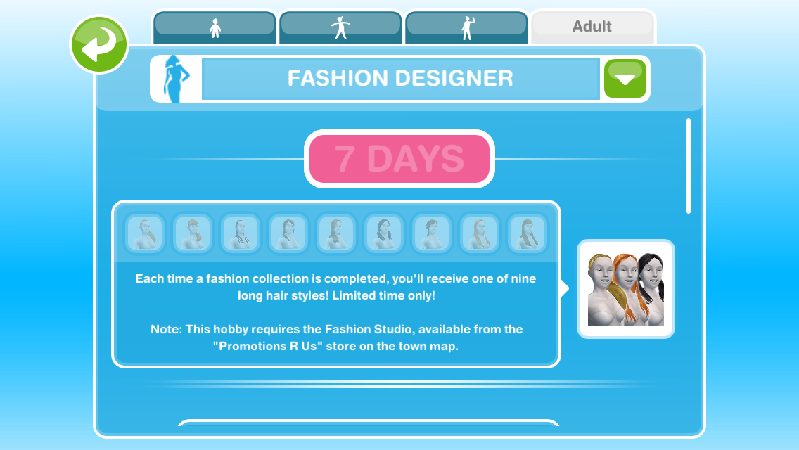 How Do I Become A Fashion Designer On Sims Freeplay