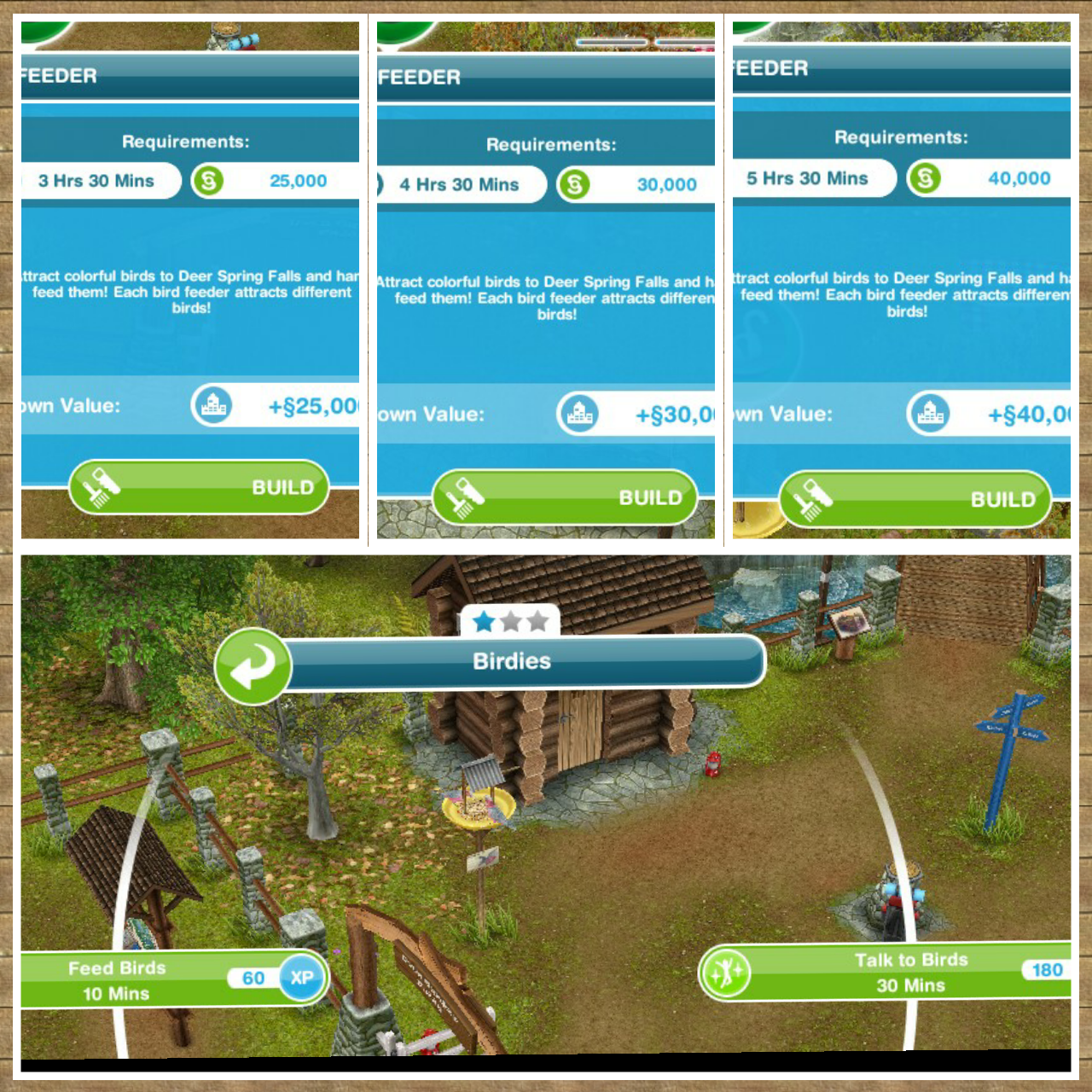the sims freeplay guide to the campgrounds the who games