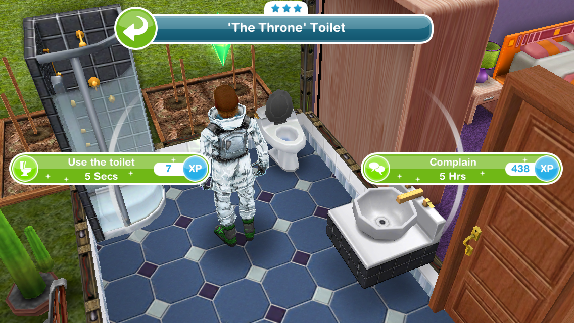 The Sims Freeplay Ghost Hunters Quest