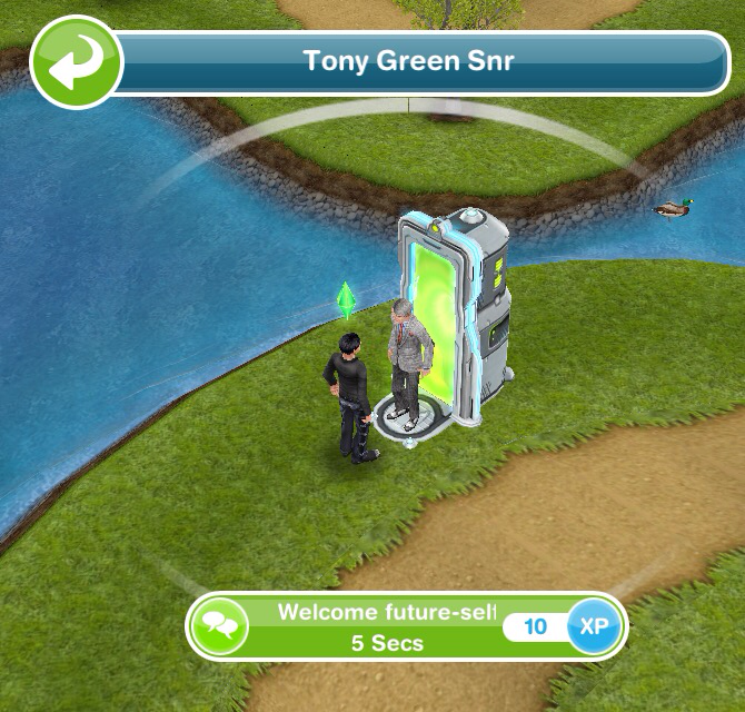 The Sims Freeplay- Seniors Quest