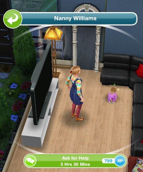 image. The Sims Freeplay  Nanny Knows Best Quest   The Girl Who Games