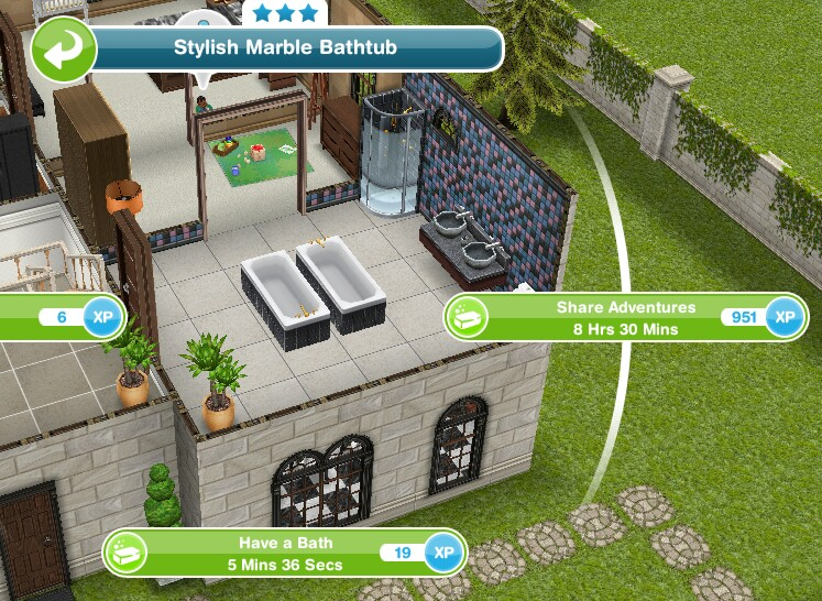 The sims freeplay super toddler secret mission quest for Sims freeplay baby bathroom