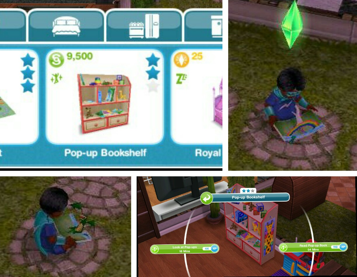 The Sims Freeplay- Hobbies: Finger Painting | The Girl Who Games