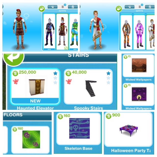 Sims freeplay ghost hunting prizes for games