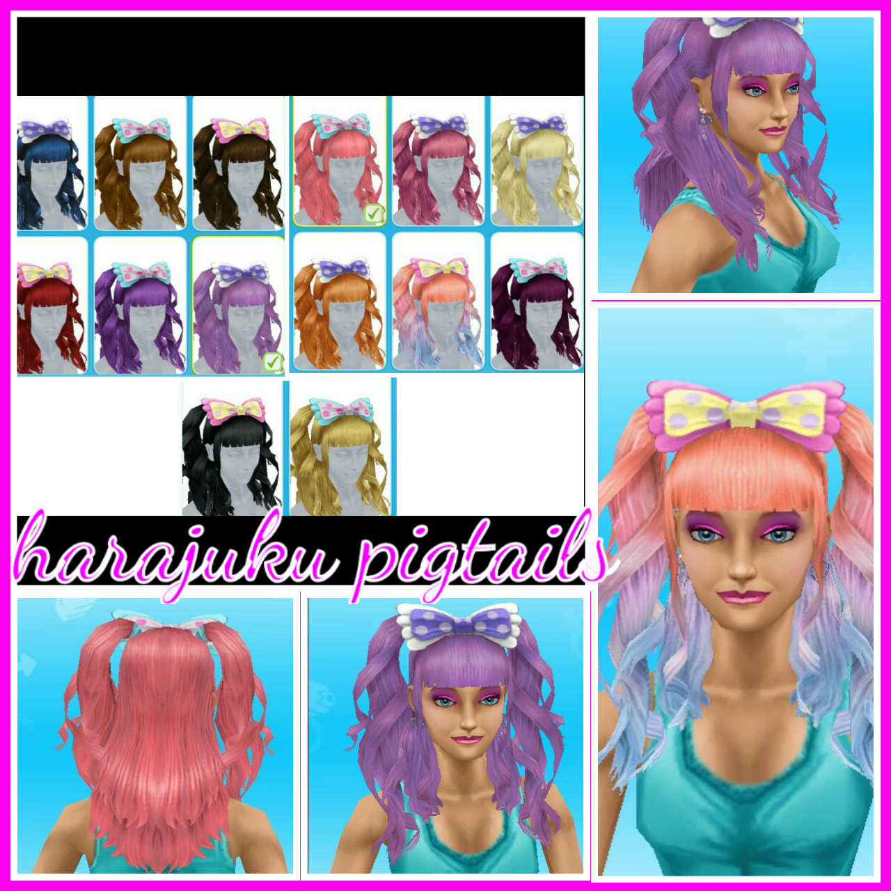 The sims freeplay long hairstyle - Image Image That Is All The Hairstyles