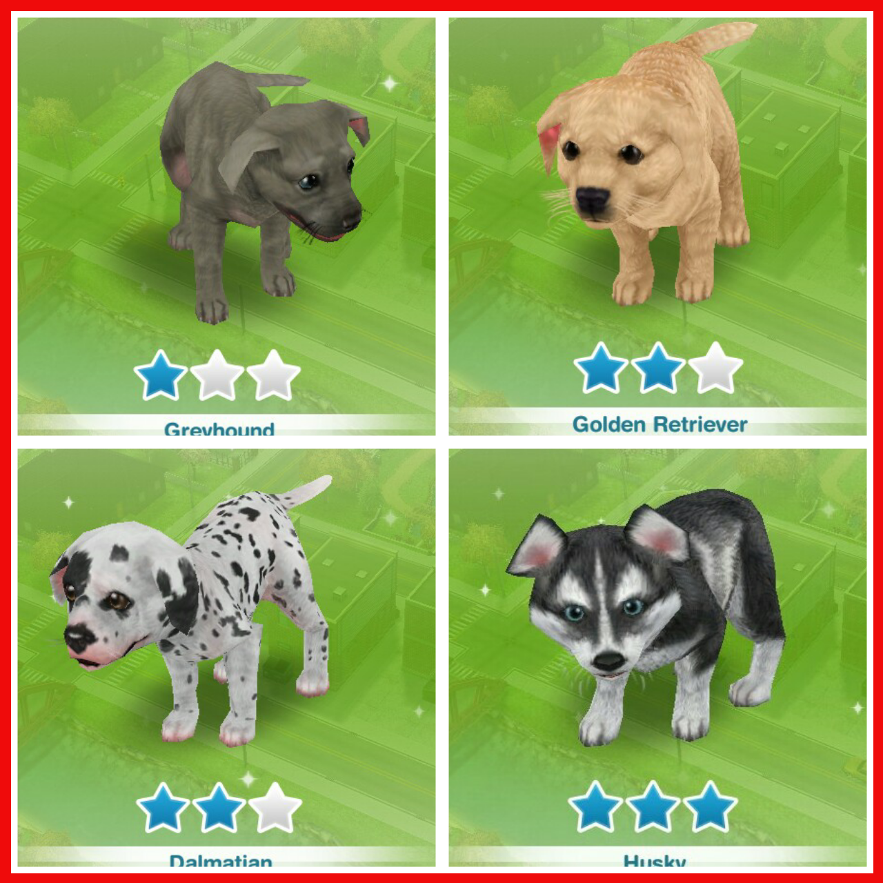 The Sims  Cats And Dogs Dogs Breads