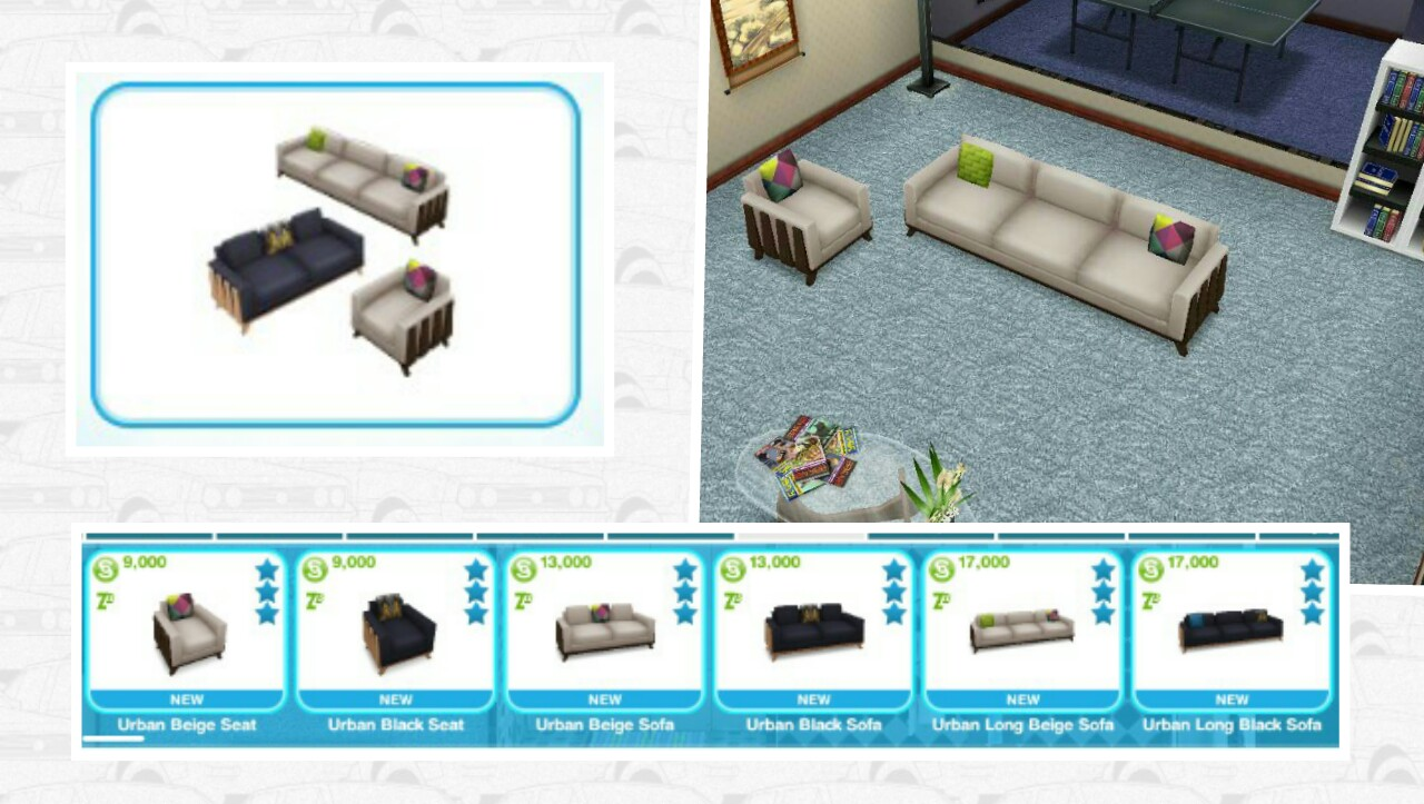 The Sims Freeplay Urban Furniture Event The Girl Who Games