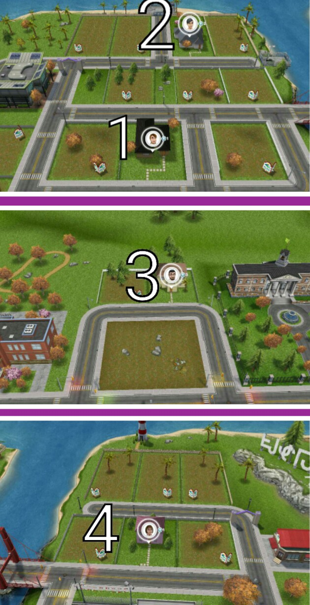The Sims Freeplay Visiting Another Sim Town The Girl Who Games