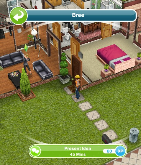 patio ideas sims freeplay sims freeplay housing. Black Bedroom Furniture Sets. Home Design Ideas