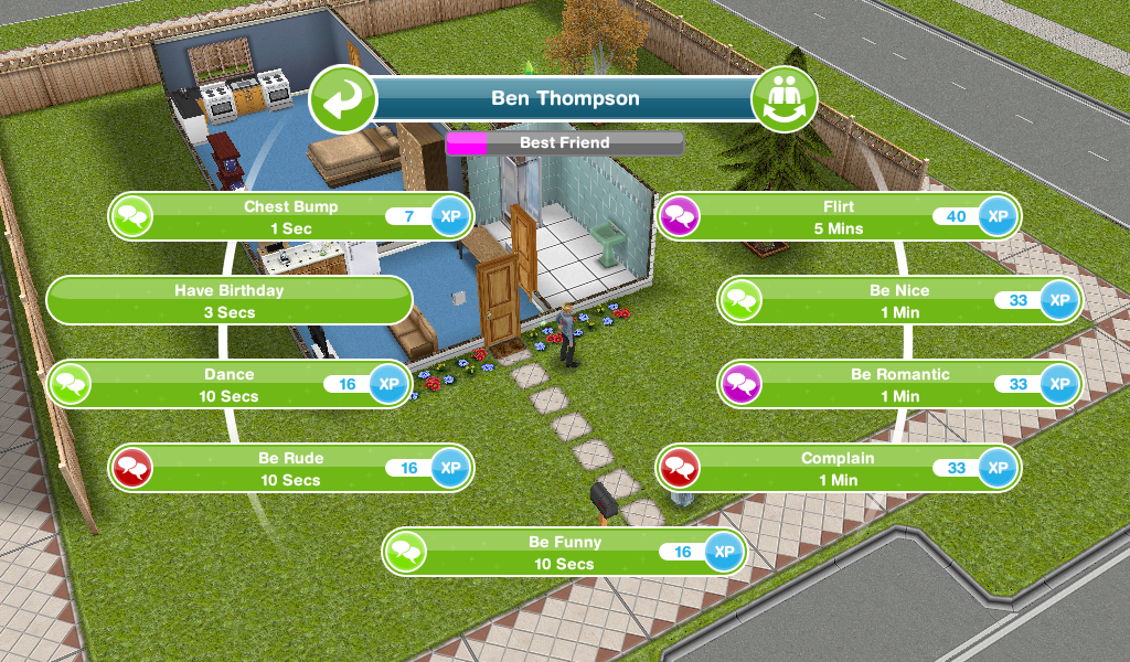 how to build dating relationship in sims freeplay Sims freeplay: hi guysi'm going to tell you how to make money on sims freeplay first you get all the free things out of the shop don't put them outin like a month have sims plant something after that change the date or year go back to sims and you have your money party boat the building is finished.
