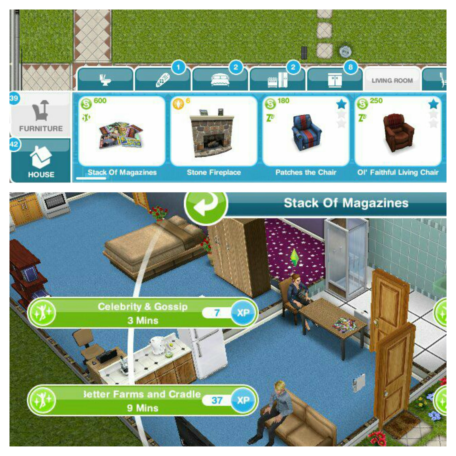 The Sims Freeplay Two And A Half Quest