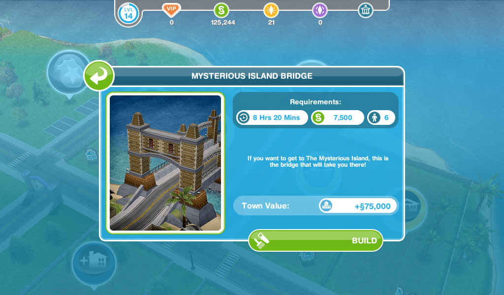 The Sims Freeplay- The Mysterious Island Quest – The Girl Who Games