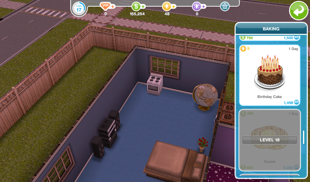The Sims Freeplay Birthday Cake Ageing Girl Who Games
