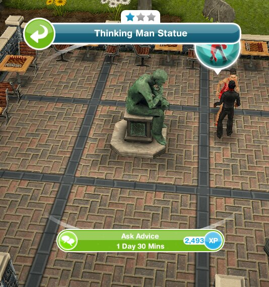 girl who games sims freeplay teenagers quest
