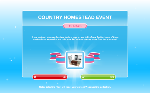 The Sims Freeplay- Country Homestead Event | The Girl Who ...