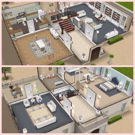 If you completed the french romance live event in the time limit you will  have unlocked the french chateau  I absolutely love this house  I think it  is so. The Sims Freeplay  House Guide  Part Five  Prize Houses   The Girl