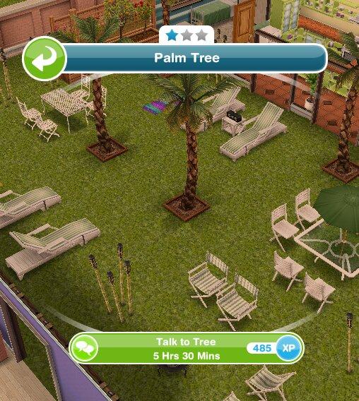 Sims Bake Cake In Park