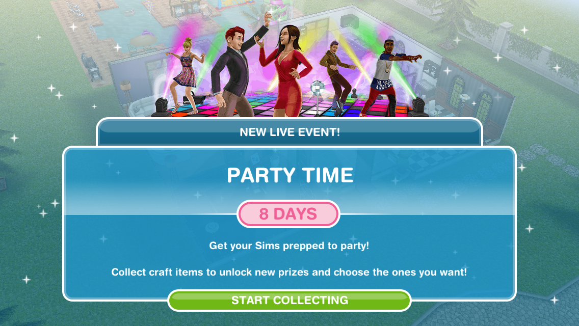 new update for sims freeplay
