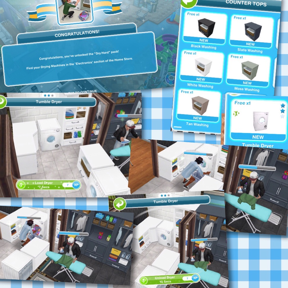 the sims freeplay luxury laundry live event the who games