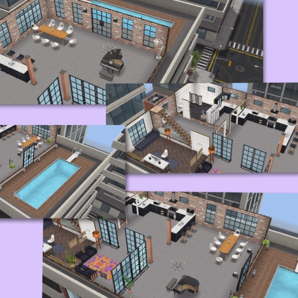 The Sims Freeplay- House Guide (Part Four) Penthouse
