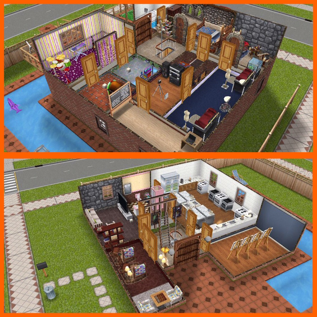 The Sims Freeplay Items Needed To Create The Best Social Tasks House The Girl Who Games
