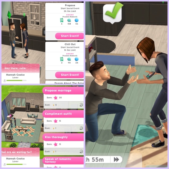 The Sims Mobile- Getting Married and Wedding Quest – The
