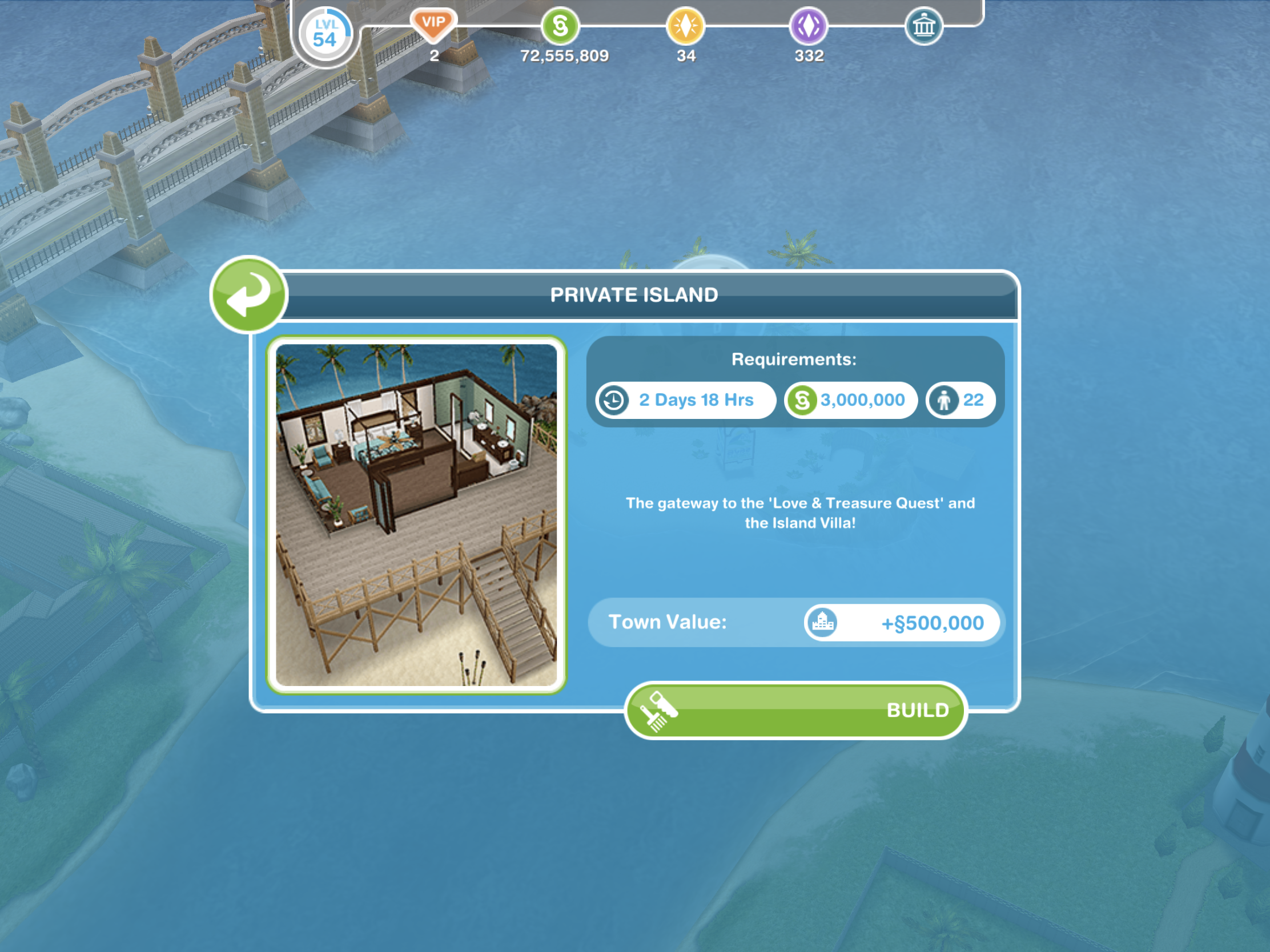 The Sims Freeplay- Love and Treasure Quest – The Girl Who Games