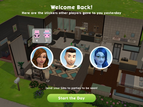 The Sims Mobile- Guide to Stickers – The Girl Who Games