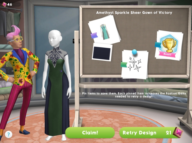The Sims Mobile Izzy S Fashion Shop The Girl Who Games